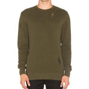 ZANEROBE Revolve Man Waffle Knit Sweater